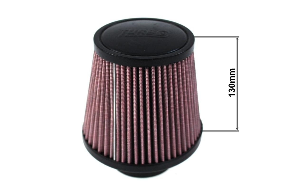 Filtr stożkowy TURBOWORKS H:130mm OTW:80-89mm Purple - GRUBYGARAGE - Sklep Tuningowy